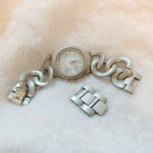 Premeir Designs Silver Watch